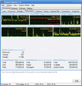 System Explorer: Keep Your System Under Control